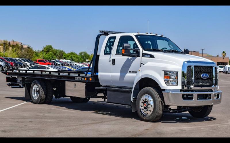 2016 Ford F-650 Century Rollback Tow Truck Walkaround