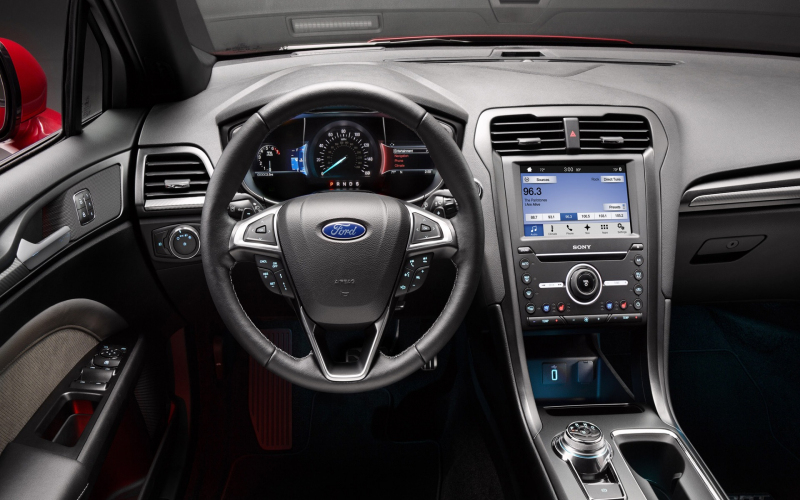 2017 Ford Fusion V6 Sport Revealed With All-Wheel Drive