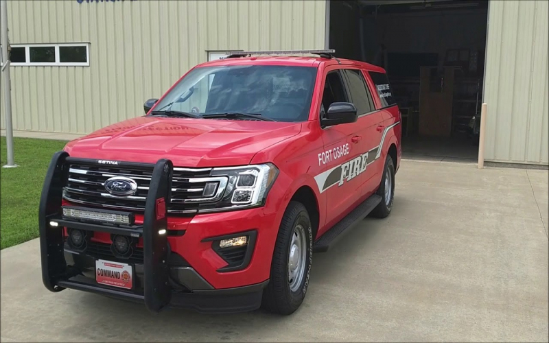 2018 Expedition Max Ssv - Fofpd - Fire Command