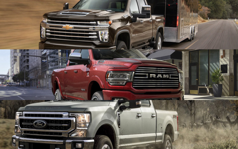 2019 & 2020 Heavy Duty Truck Towing Capability - Buyer's