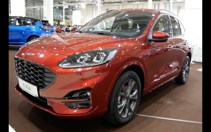 2020 - 2021 New Ford Kuga Exterior And Interior