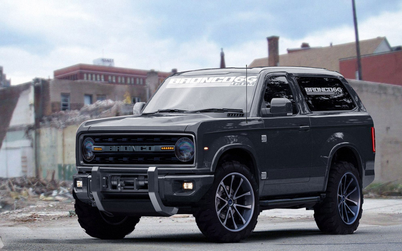 2020 Ford Bronco Prototype Desktop Wallpaper | Ford Bronco