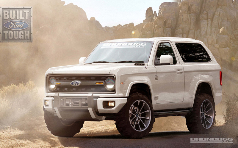 2020 Ford Bronco Renderings Photo Gallery | Autoblog