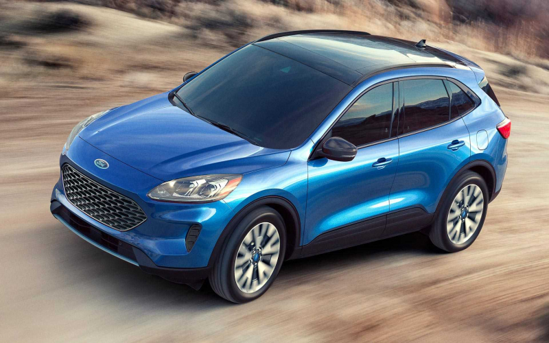 2020 Ford Escape Debuts With Whole New Look, Two Hybrid Choices