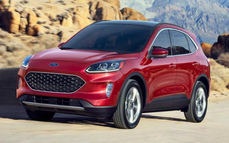 2020 Ford Escape Hybrid Returns Epa-Estimated 41 Mpg Combined