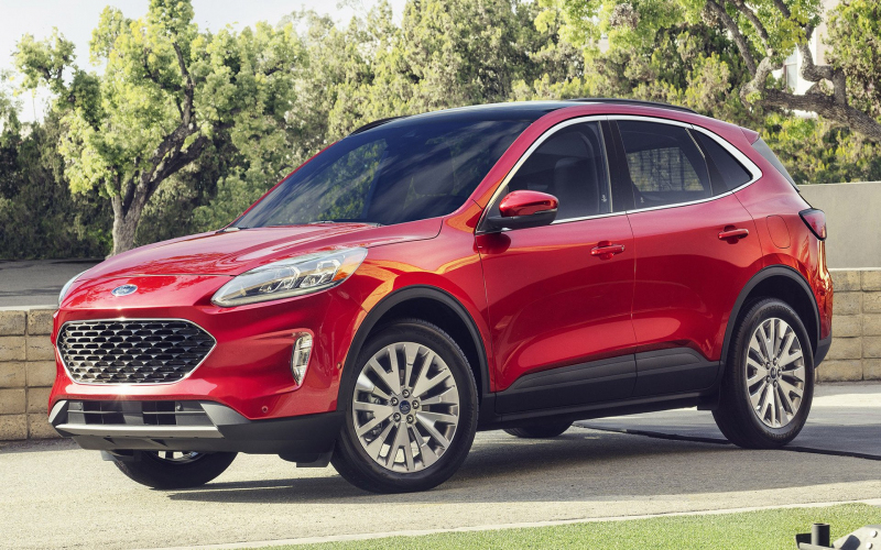 2020 Ford Escape Se Hybrid Hd Wallpaper | Achtergrond