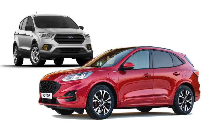2020 Ford Escape: See The Changes Side-By-Side