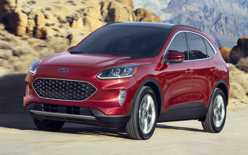 2020 Ford Escape St | Top Speed