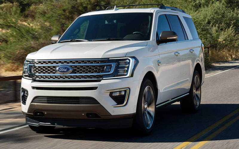 2020 Ford Expedition King Ranch Arrives With Royalty Inside