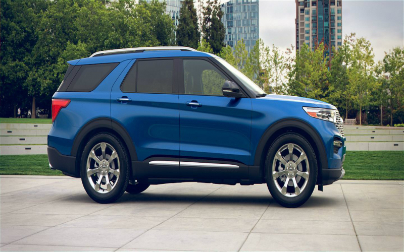 2020 Ford Atlas Blue | 2020 - 2021 Cars