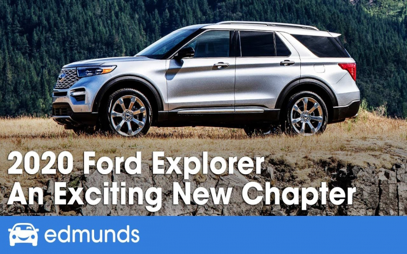 2020 Ford Explorer Review & First Drive - An Exciting New Chapter | Edmunds