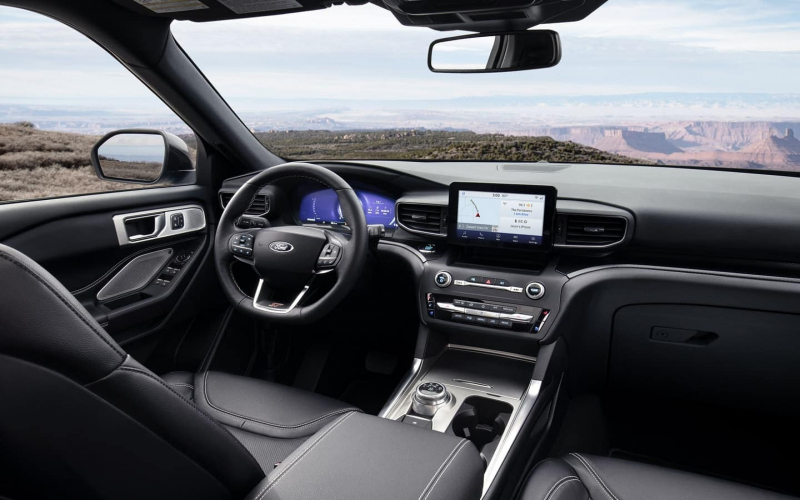 2020 Ford Explorer Seating Capacity | Interior Features