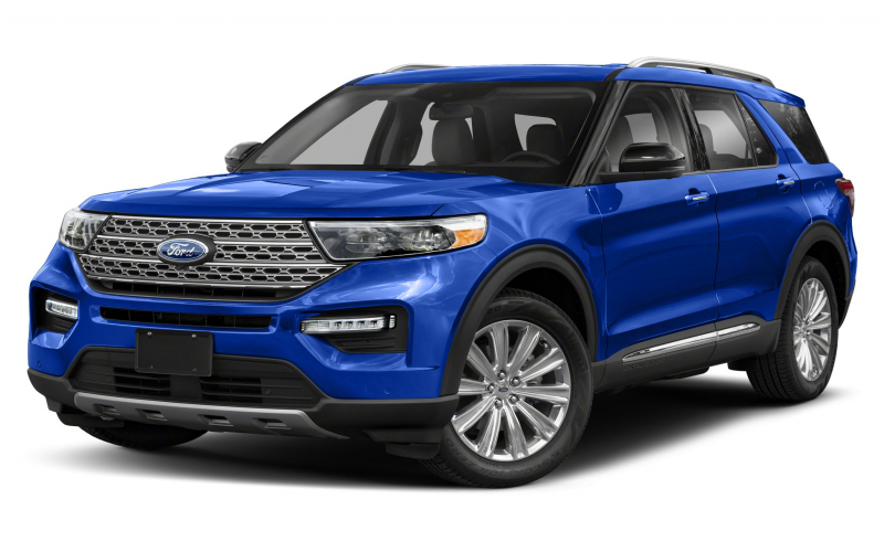 2020 Ford Explorer Xlt 4Dr 4X4 Pictures