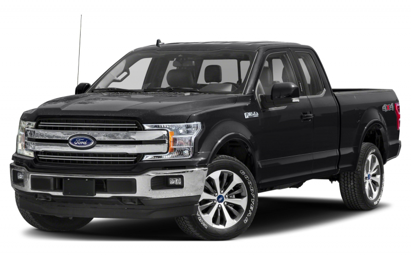 2020 Ford F-150 Lariat 4X2 Supercab Styleside 6.5 Ft. Box 145 In. Wb  Pictures