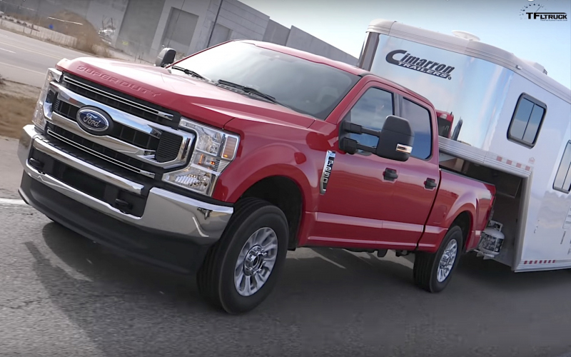 2020 Ford F-250 7.3L V8 Towing And Unloaded Real-World