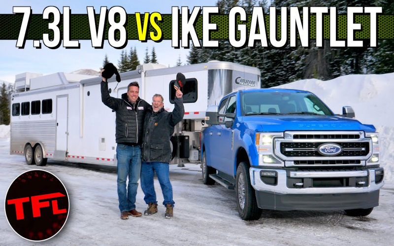 2020 Ford F-250 Godzilla 7.3L V8 Gets Maxed Out On The