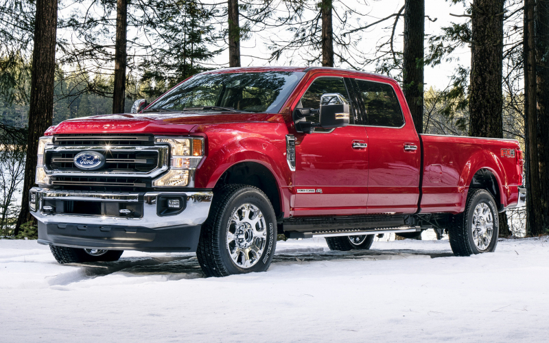 2020 Ford F-250 Super Duty King Ranch Crew Cab Fx4 Package