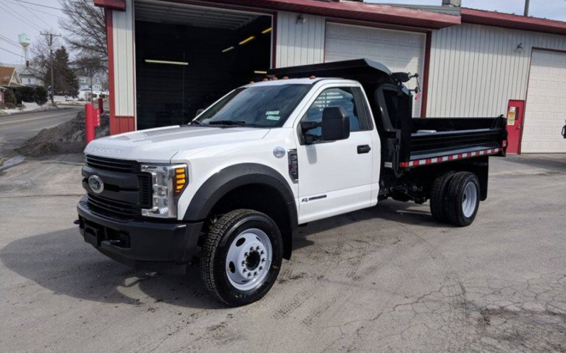 2020 Ford F550 3 Yard Dump Regular Cab - Curry Supply Trucks