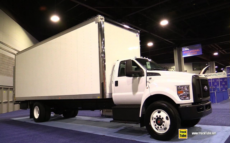 2020 Ford F750 V10 Triton Roush Clean Tech Propane Delivery Truck Exterior  Walkaround