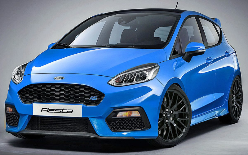 2020 Ford Fiesta Rs