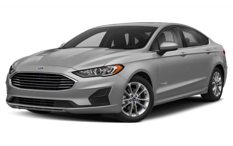 2020 Ford Fusion Hybrid Titanium 4Dr Front-Wheel Drive Sedan Pictures