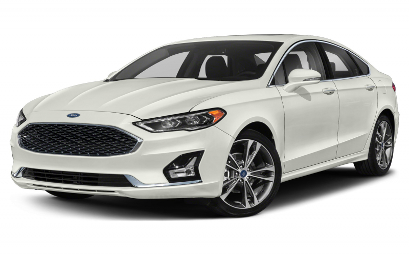 2020 Ford Fusion Titanium 4Dr All-Wheel Drive Sedan Pictures