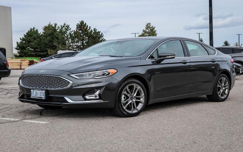 2020 Ford Fusion Titanium Hev - Vaughan