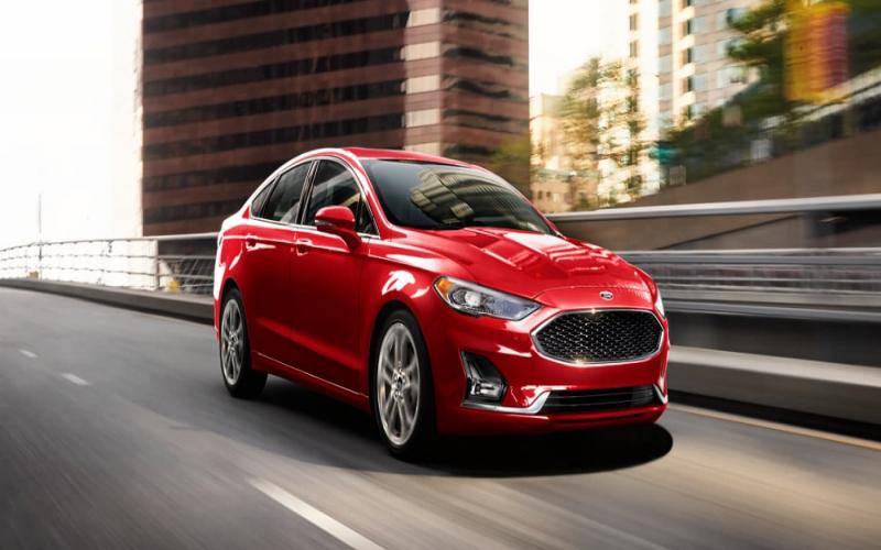 2020 Ford Fusion Trim Levels: S Vs. Se Vs. Sel Vs. Titanium