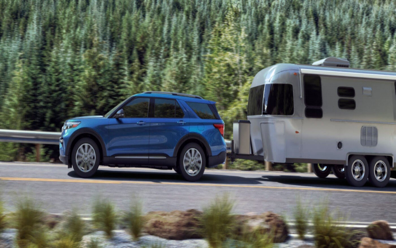 2020 Ford Suv Towing Capacity: Escape, Explorer, Edge & More