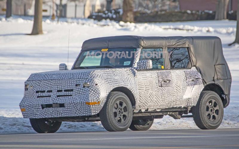 2021 Ford Bronco Spy Shots