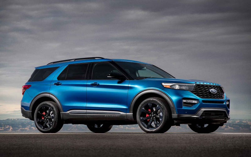 2021 Ford Explorer All Black, Specification, Exterior