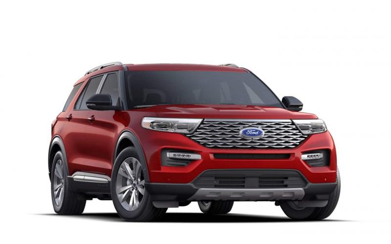 2021 Ford Explorer Iconic Silver Premier Specs, Color