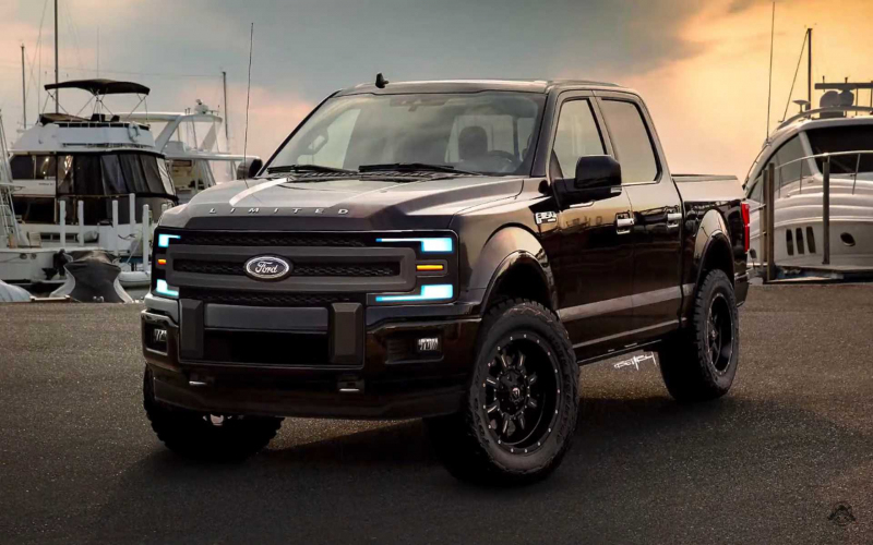 2021 Ford F-150 Rendered With Evolutionary Approach