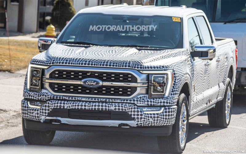 2021 Ford F-150 Spy Shots