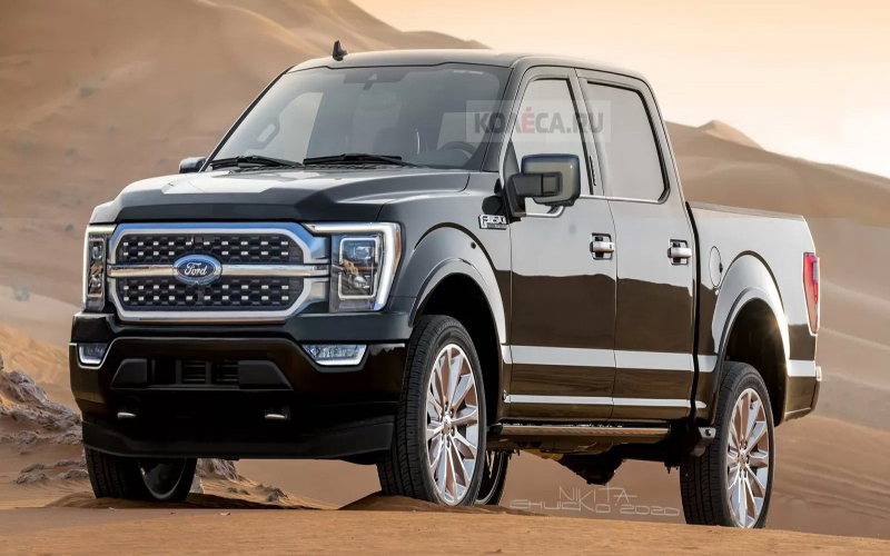 2021 Ford F-150 Shelby Concept, Release Date, Colors ...