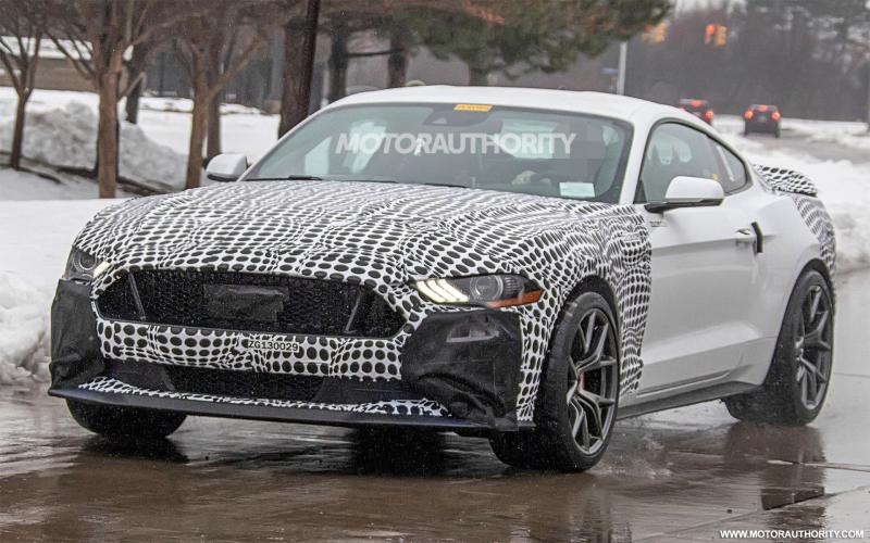 2021 Ford Mustang Mach 1 Spy Shots – Tuner Zine