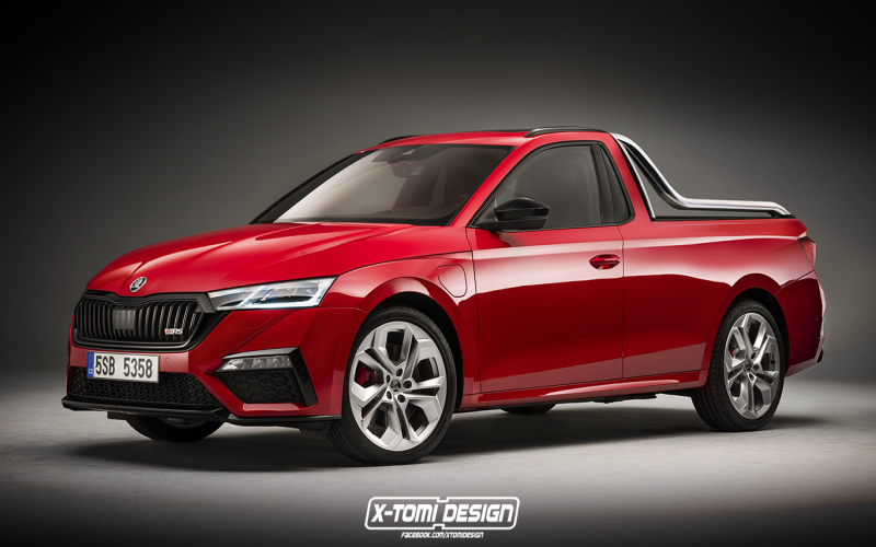 2021 Skoda Octavia Rs Makes A Mean Ute Or Shooting Brake