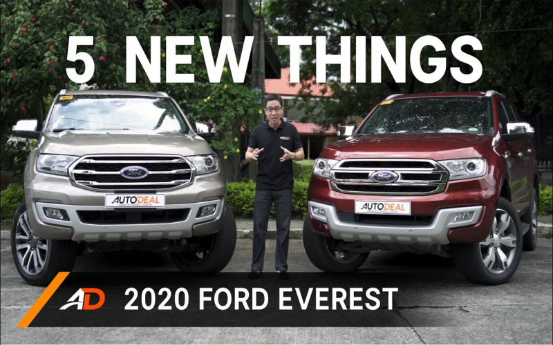 5 New Things In The 2020 Ford Everest – Old Vs New
