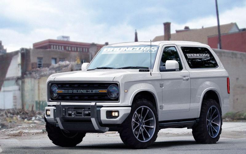 De Ford Bronco Komt Terug - Ford Bronco, Ford Ranger En Ford