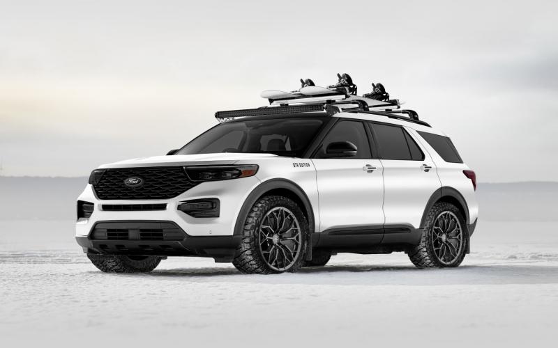 Deze Custom 2020 Ford Explorer Hybrid Is Gebouwd Om Elk