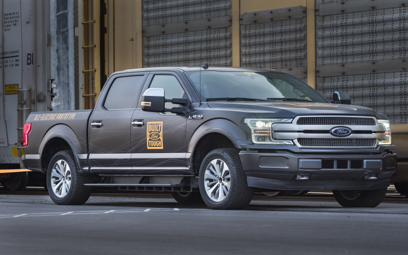 Electric Ford F-150 Could Be Here As Early As 2021