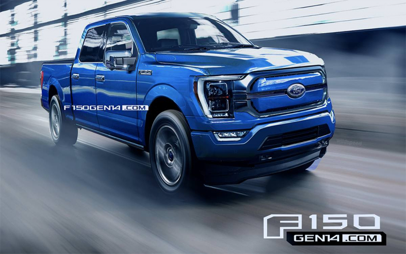 Electrified 2022 Ford F-150 Getting Closer To Production