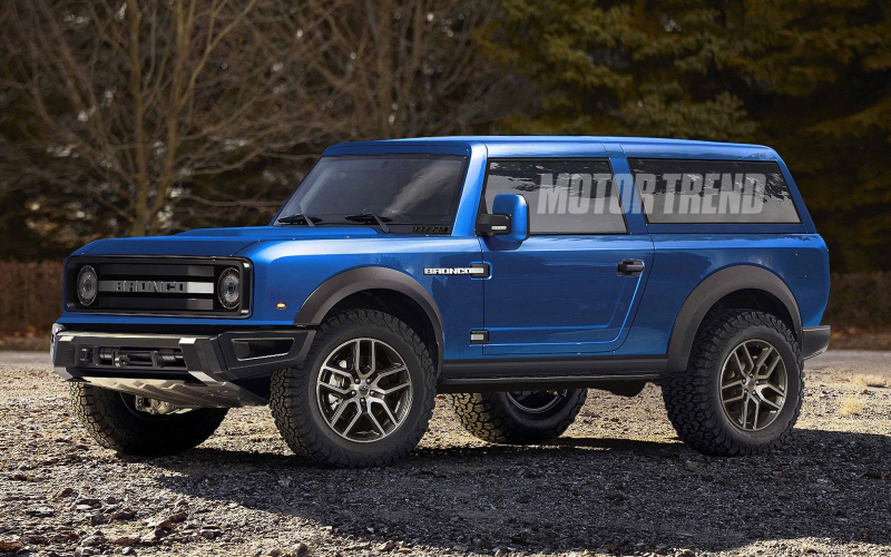 Electrifying News: Ford Confirms Bronco Hybrid
