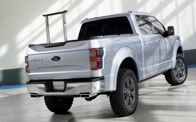 Ford Atlas Concept Is Een Voorbode Van Nieuwe F-150