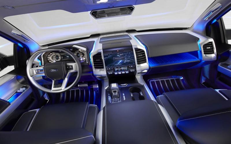 Ford Atlas Concept Weerspiegelt Pickup Van De Toekomst