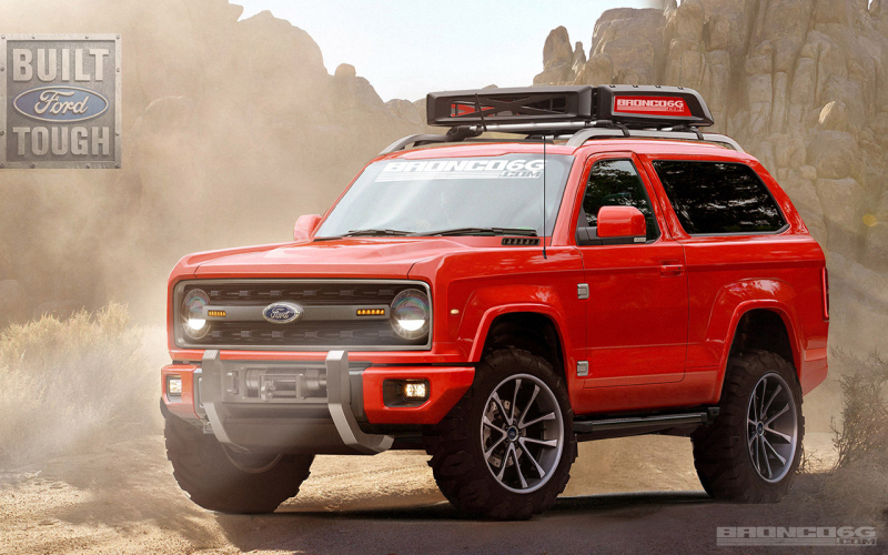 Ford Bronco Komt Terug In 2020 - Hij Wordt Gebouwd In Michigan