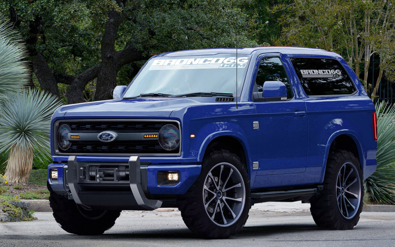 Ford Can't Quit Filing Trademarks For The 2020 Bronco