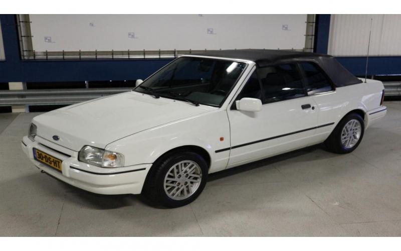 Ford Escort Cabrio 1.6 Xr3 Kat. 1990 Cabriolet / Top