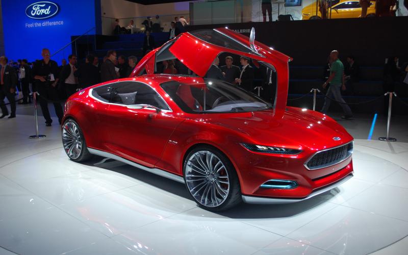 Ford Evos Concept Live Photos: 2011 Frankfurt Auto Show