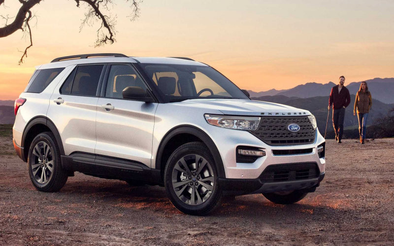 Ford Explorer Xlt Getting Sport Appearance Package For 2021